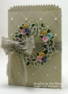 Wondrous Wreath Treat Bag