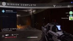 Destiny ps4 game | Gameplay | Popup | #ui #interface #flat #scifi #destiny #game