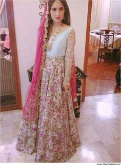 Mesmerizing pakistani mehndi dresses and mehndi designs