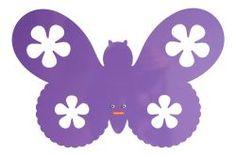 Roommate Wandleuchte Butterfly Lila