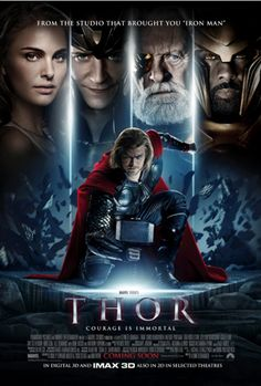 Thor (2011) a film by Kenneth Branagh + MOVIES + Chris Hemsworth + Anthony Hopkins + Natalie Portman + Tom Hiddleston + Stellan Skarsgård + cinema + Action + Adventure + Fantasy