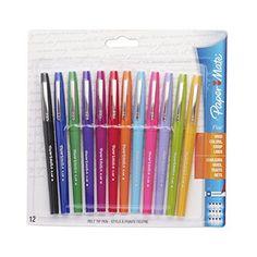 a0381c2e370e96 Paper Mate 74423 Flair Felt Tip Pens