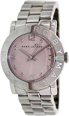 Marc by Marc Jacobs Pink Dial Stainless Steel Ladies Watch MBM3300 Marc by Marc Jacobs http://www.amazon.com/dp/B00EP2RWXW/ref=cm_sw_r_pi_dp_88oCub080TWBF