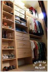 As you all know by now, I LOVE an organized space. For my master closet, I have designed it to be like a chic boutique that I alone get to shop in several times a day. Here are my tips to turn any blah, average closet into a great organized space you'll want to spend time in. Oh, and by the