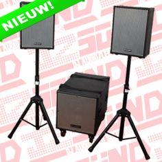 Ibiza EP1298 actieve PA speaker set