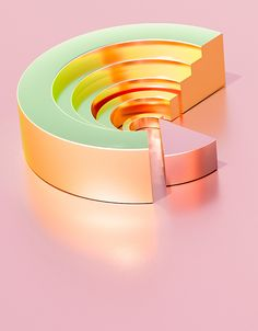 Gold - South and Island #3D #design
