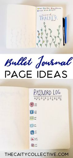 Need a little bullet journal inspiration? Click here to see 6 simple and useful bullet journal page ideas! | bullet journal ideas| bullet journal layout | bullet journal inspiration