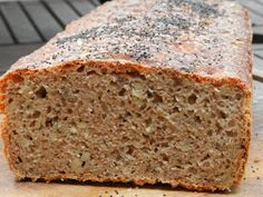 Bread Recipes, Banana Bread, Noodles, Food And Drink, Desserts, Cakes, Baking, Fitness, Thermomix