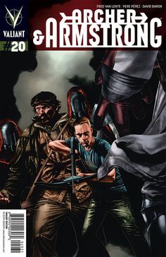 Archer and Armstrong #20 - Morrison Hotel: Part One of American Wasteland (Issue)