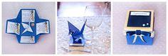 invitations, wedding, origami by Ciachbook