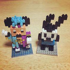 ☆161014 何も用事が無い有休で作った ナノブロック☺️🙌🏻 ディズニーに行くたび買う 限定品はカラフルで作ってて楽しい💖 オズワルドはただ好き💜 - #ナノブロック #nanoblock  #ディズニー #Disney  #DisneyLand #ディズニーランド  #ミッキーマウス #MickeyMouse  #ディズニー夏祭り2016  #オズワルド #Oswald #🐭 #🐰