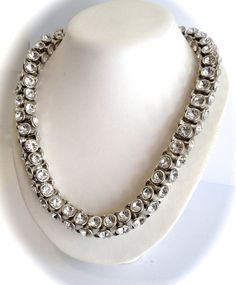 Fabulous Chunky Crystal Statement Necklace by WOWTHATSBEAUTIFUL