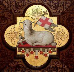 Agnus Dei (Lamb of God (Greek: ἀμνὸς τοῦ θεοῦ, amnos tou theou; Latin: Agnus Dei)
