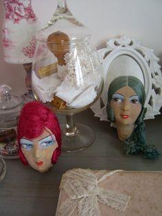 Boudoir Doll Heads