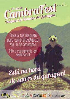 CambraFest Festival de Bandas de Garagem > envia a tua maquete até 19 Set 2014 #ValeDeCambra