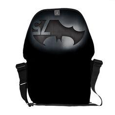バットマン75 -金属の格子 メッセンジャーバッグ