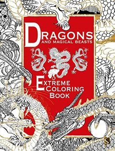 Dragons And Magical Beasts Coloring Book