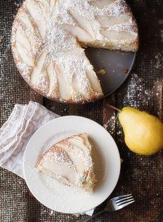 Pear Mascarpone Cake