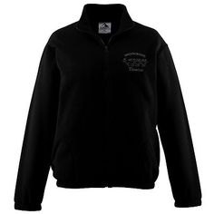 Augusta Sportswear Youth Long Sleeve Chill Fleece Ultra Soft Jacket. 3541 Description   100% polyester Chill Fleece, Pill-free, Ultra-soft, Center front zipper, Set-in sleeves, Front pockets, Elastic cuffs and bottom, Machine-washable, Individually polybagged.
