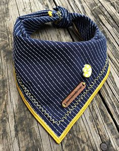 Navy dog bandana, cat bandana, dog bandanas, dog , cat, puppy bandana, dog accessories, summer dog bandana, preppy, dapper, small: PRINCE - Tap the pin for the most adorable pawtastic fur baby apparel! You'll love the dog clothes and cat clothes! <3
