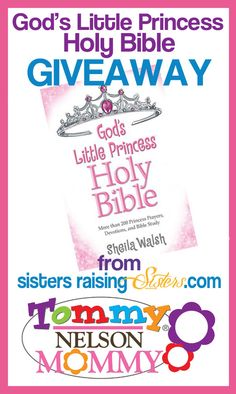 Gods Little Princess Holy Bible Giveaway. Ends 10/31.