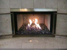 51 best fire glass fireplace images fireplace mantle diy ideas rh pinterest com