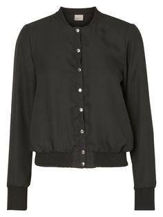 Black bomber jacket from VERO MODA.