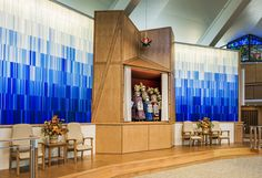 Temple Adath Israel - Sanctuary Renovations | Atkin Olshin Schade Architects | Archinect