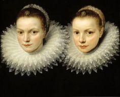 """la-belle-epoche: """"Cornelis de Vos (Flemish, Two Sisters, Oil on canvas Sinebrychoff Art Museum, Helsinki, Finland """" Rembrandt, Op Art, Renaissance Kunst, Renaissance Portraits, Anthony Van Dyck, Dutch Golden Age, Baroque Art, Two Sisters, Art Blog"""