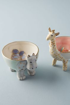 Sweet Safari Trinket Dish is part of Unique Home Accessories Window - Whether placed on your desk to hold pins and clips or set on your dresser as a home for post earrings and rings, this sweetly designed catchall is as delightful as it is functional Unique Home Accessories, Unique Home Decor, Safari, Jewelry Dish, Cute Jewelry, Ceramic Pottery, Ceramic Art, Ceramics Projects, Ceramic Animals