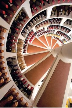 Aging Gracefully: Wine Cellar Staircace- St. Louis, Missouri
