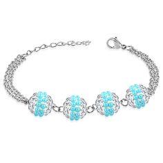 Dámský shamballa náramek, vyrobený z chirurgické oceli Pandora Charms, Charmed, Bracelets, Jewelry, Fashion, Moda, Jewlery, Bijoux, Fashion Styles