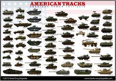 tanks posters - American AFVs 1915-2015