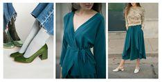 Базовая одежда зеленого цвета