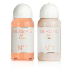 MERMAID HAIR - Shampoo & Conditioner - orange blossom flowers & coconut - all natural - sulfate free - made with love <3