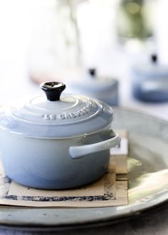 Any additions to my small but growing Le Creuset collection (preferably Flame or Coastal Blue) Le Creuset, Burnt Toast, Joy Of Cooking, Cooking Ware, What's Cooking, Broste Copenhagen, White Cottage, Farm Cottage, Beautiful Kitchens