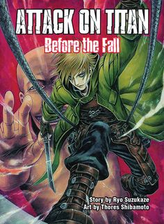 Attack on Titan: Before the Fall Novel