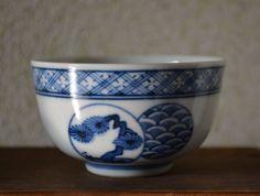 Set of twelve ceramic Japanese tea cups stamped by StyledinJapan