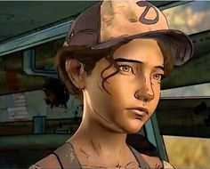 my beautiful baby girl❤️ Clementine love her so much, she means everything to me even if she is a video game character she's still my girl