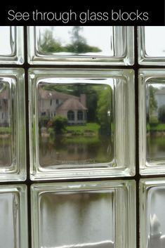 1000 images about glass block windows on pinterest - Obscure glass windows for bathrooms ...
