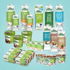 Granarolo 100% Vegetale - Range of milk-like beverage based on plants