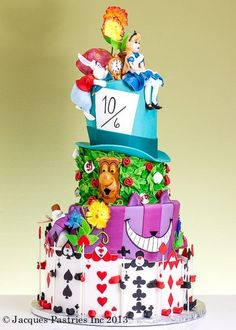 Cake Wrecks - Home. Coolest Alice in Wonderland cake EVER. Pretty Cakes, Cute Cakes, Beautiful Cakes, Amazing Cakes, Cake Wrecks, Crazy Cakes, Themed Wedding Cakes, Themed Cakes, Cake Wedding