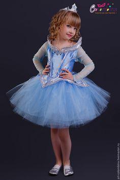 Купить Костюм Авроры - голубой, аврора, принцесса аврора, костюм авроры, спящая красавица