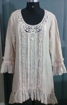 Pretty Linen Dresses | Pin it Like Image