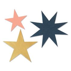Sizzix Bigz Die - Winter Stars Foam Packaging, Sizzix Dies, Olivia Rose, Hobonichi Techo, Distress Oxides, Big Shot, Card Stock, Crafty, Sandpaper