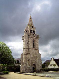 Clocher de l'église de Taulé
