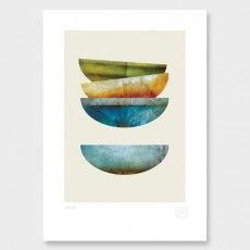 Vessels Art Print by Pencil & Hammer