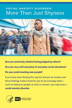 Cover image for Social Anxiety: More Than Just Shyness