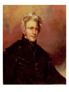 Andrew Jackson, portrait by Thomas Sully. 1858.