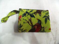 New Velvet Printed Fabric Ethnic Cotton Designer Solid Wristlet Hand bag 18Cm #Handmade #IpadCaseCover